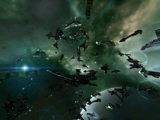 EVE会战:每一艘船舰都是一个玩家