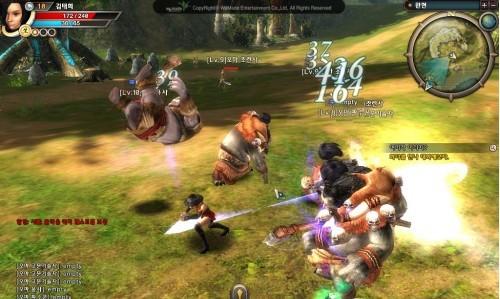 剑灵战斗画面