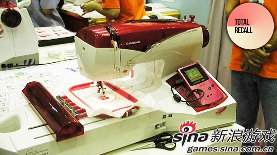 GAME BOY缝纫机