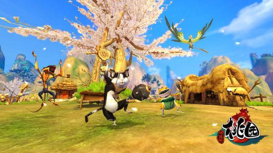 桃园宠物游戏画面