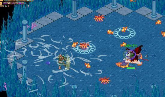 海底的恶魔看来能够控制海流
