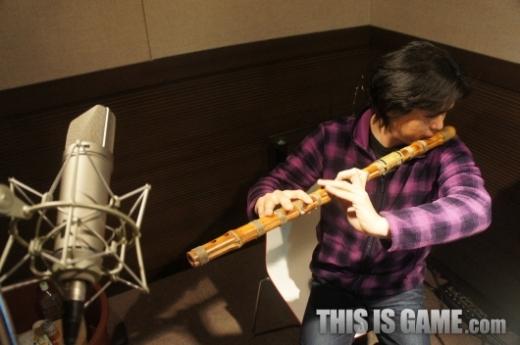 使用了很多古典乐器制作出来了东洋风格的背景音效