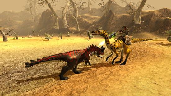 《恐龍風暴》遊戲截圖