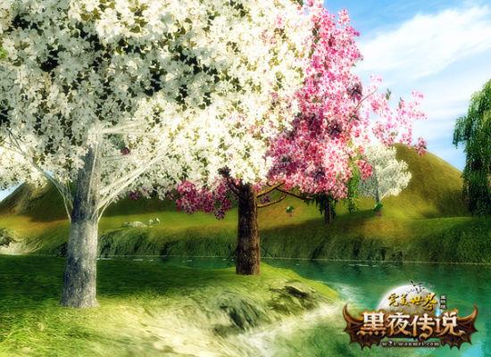桃源镇的桃花