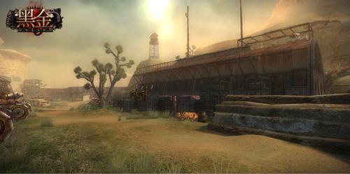 《黑金》蒸汽军营截图