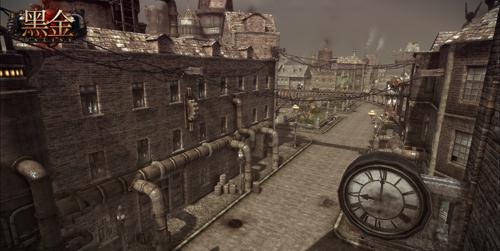 昏暗蒸汽阵营城市截图