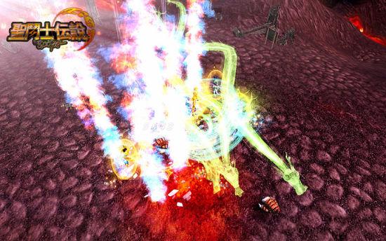《圣斗士传说》天龙座绝杀圣衣技