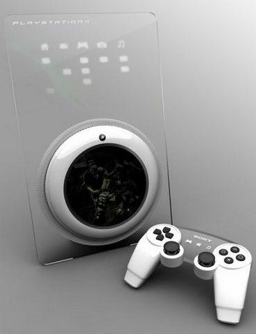 PlayStation 4概念图
