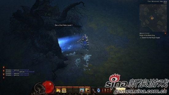 暗黑破坏神3游戏画面