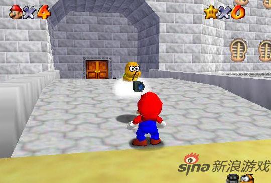 N64代表游戏:超级马里奥64