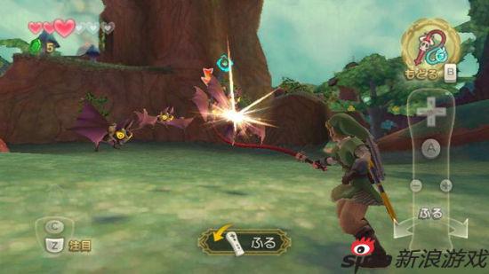 代表游戏:塞尔达传说天空之剑