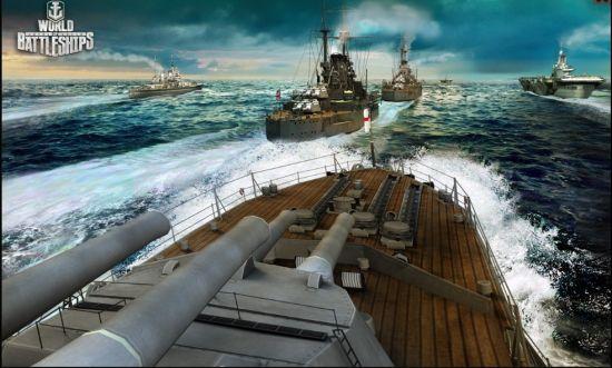 《战舰世界》游戏原画