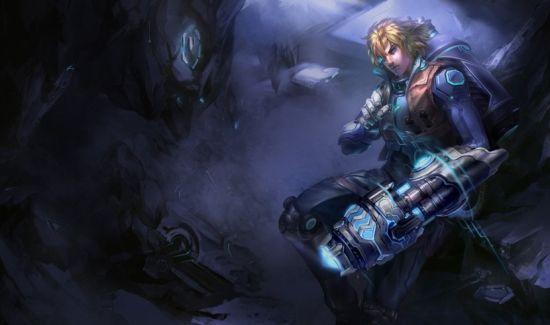 《英雄聯盟》探險家未來戰士皮膚