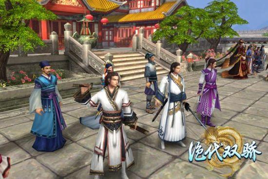 Unity3D即时战斗页游《绝代双骄》即将开测