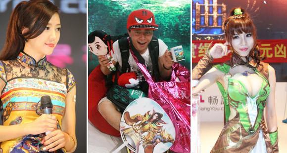 女神亮相万元悬赏 2012ChinaJoy无限乐趣尽畅游