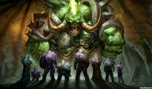 在怪兽的面前我们是渺小的,但是不要怕,我们有公会!