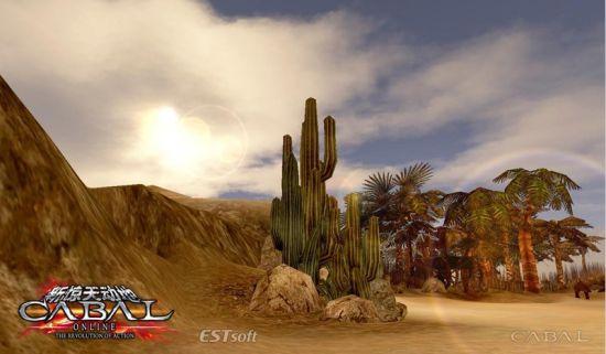 《新惊天动地》实景截图-呼啸沙漠