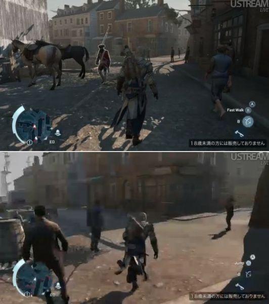 《刺客信条3》、《僵尸U》等都是首发游戏