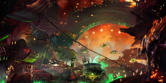 《激战2》新版本概念图