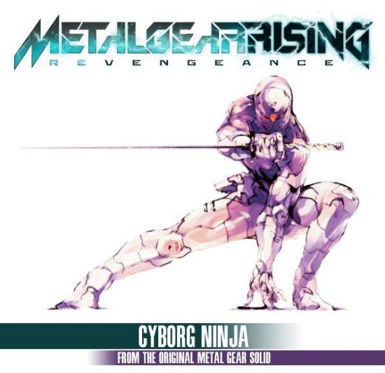 MGRR Cyborg Ninja