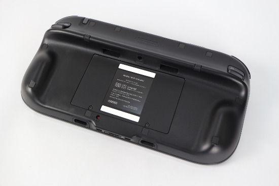 WiiU游戏平板的背面