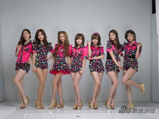 韩少女天团代言日本博游戏引争议