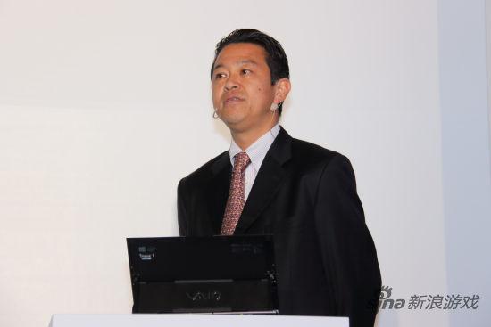SCE Asia总裁织田博之