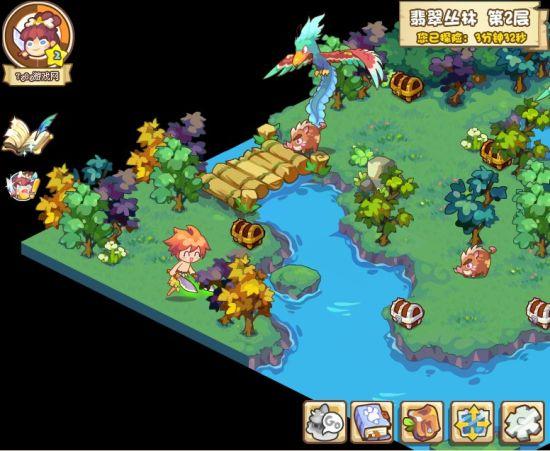 在探险地图中,玩家要按照任务规定击败相应的敌人
