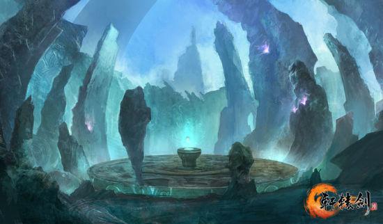 《轩辕剑6》场景原画