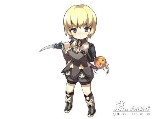 剑灵玩家手绘萌图 秦义绝也能如此可爱