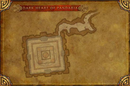 5.3全新场景战役潘达利亚黑暗之心地图