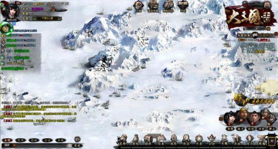 白雪皑皑的冰原