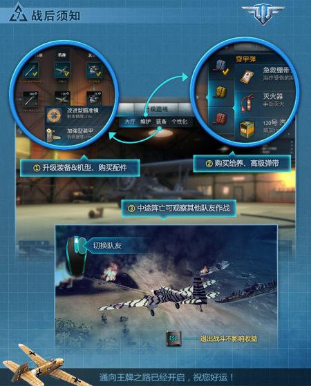 《战机世界》资料新手指南