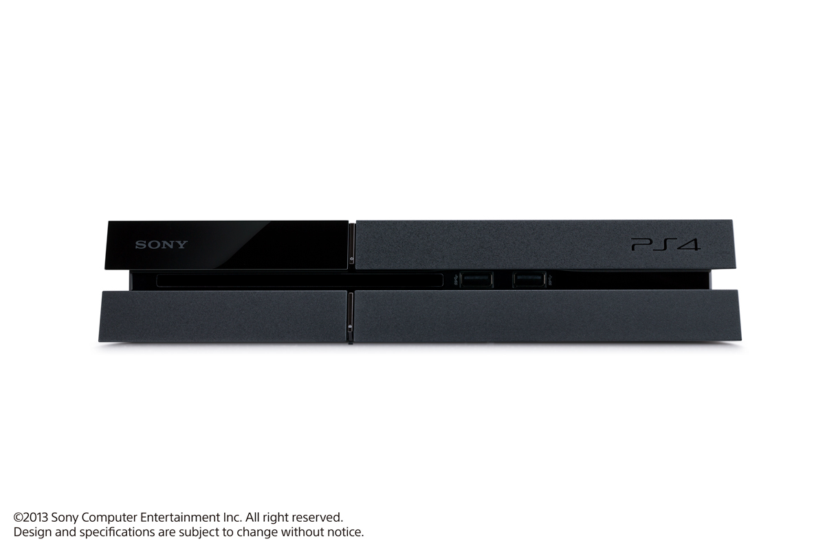PS4主机 正面