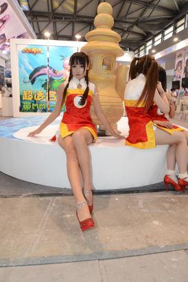 2013Chinajoy动漫靓模引宅男a动漫_网络游戏玉美女足美女