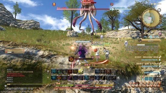 最终幻想14 背景揭秘中文UI截图赏