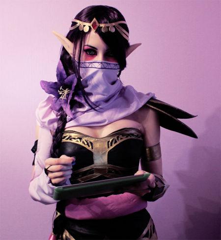 圣堂刺客cosplay