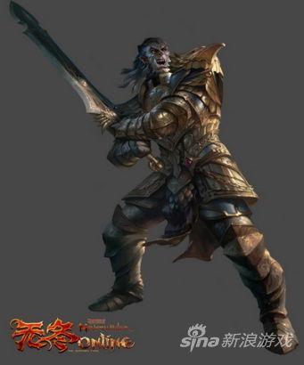 《无冬online》巨武斗士职业