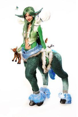 国外软妹cos魔兽世界最萌的npc米露恩