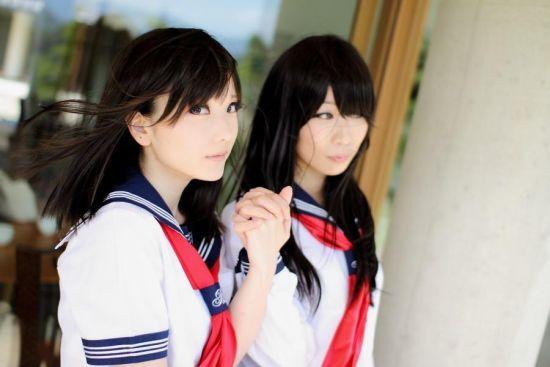 且撸且珍惜!日本美女制服黑丝海量cos赏