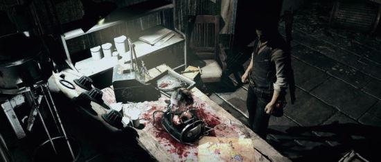 《恶灵附身》新图:恐怖气息无处不在 (1)