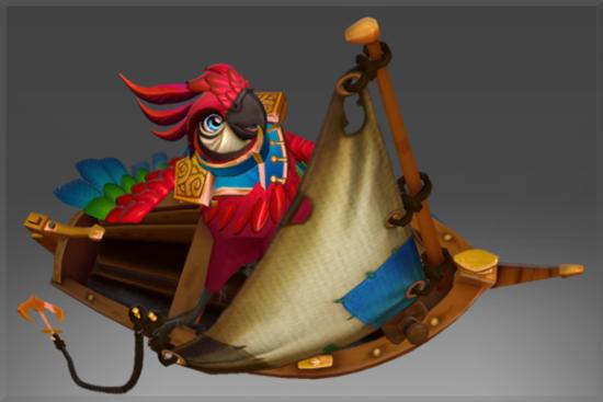 首先小紫本船长鹦鹉信使的新形态已经加入游戏