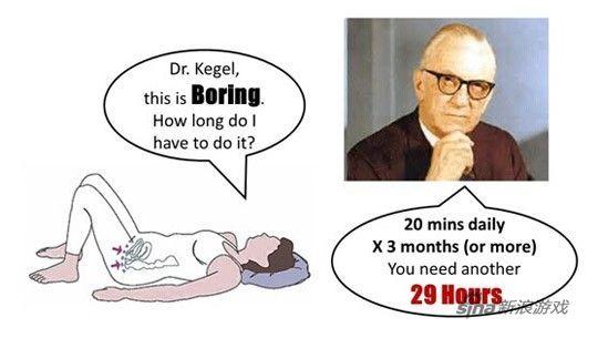 凯格尔运动分步骤图解