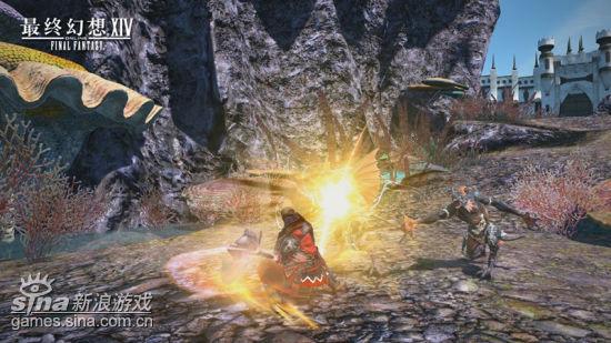 《最终幻想14》战斗截