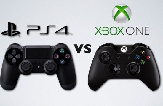 PS4与Xbox one的对决!