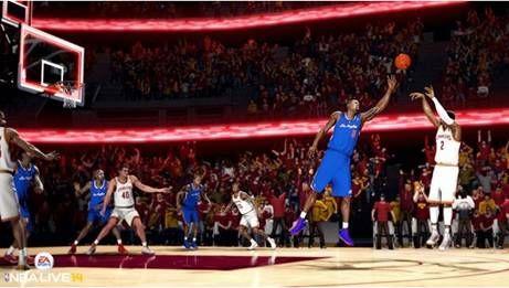 小编现场试玩《NBA 2K14》