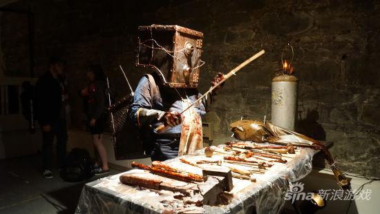 盒子怪人和屠宰工具