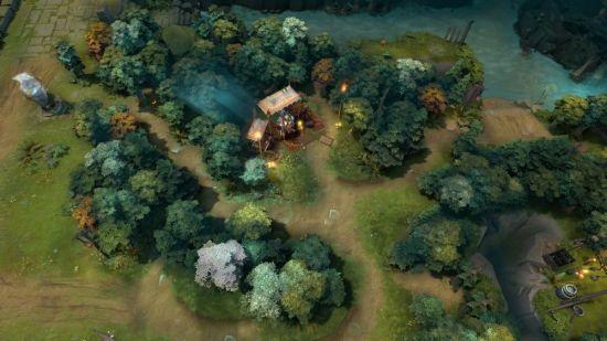解说称dota2新版本:地图更像英雄联盟?