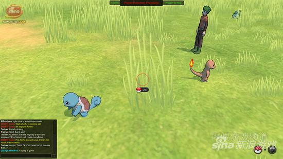 3D版《口袋妖怪》MMORPG