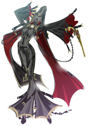 《猎天使魔女2》贝姐红旗袍秀美臀